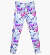 Unicorns in Clouds Leggings