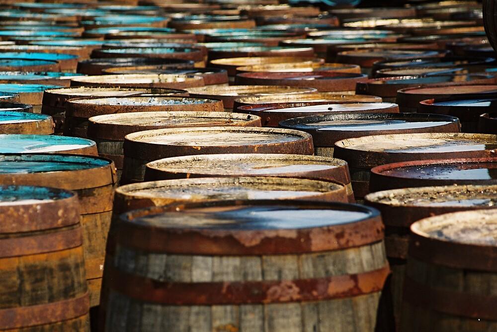 Islay Whisky Barrels by Kate Powick