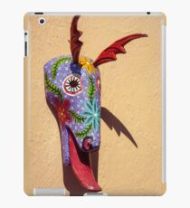Amusing decorative ceramic object inspired by Guatemalan culture iPad Case/Skin