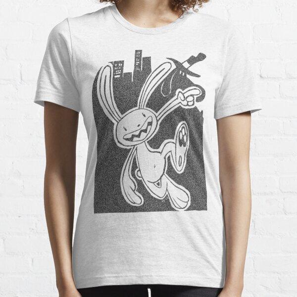 You Crack Me Up, Little Buddy (Black) Essential T-Shirt