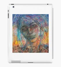 Written all over her face iPad Case/Skin