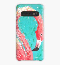 Flaunting Flamingo Case/Skin for Samsung Galaxy