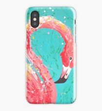 Flaunting Flamingo iPhone Case
