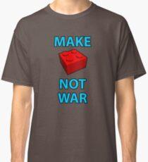 Make Brick Not War Classic T-Shirt