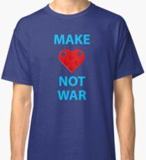 Make Heart Not War Classic T-Shirt