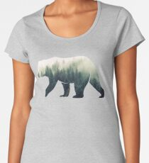 Bear in the Forest Women's Premium T-Shirt