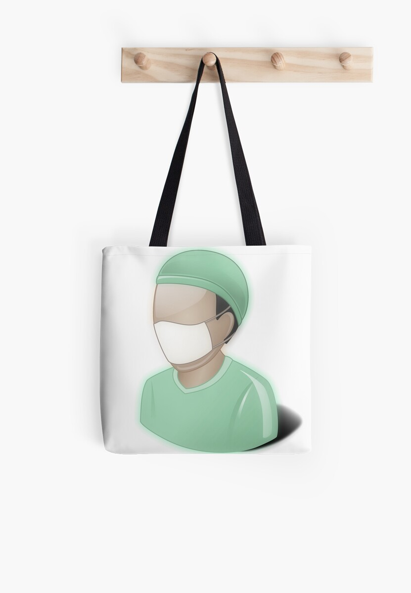 Bolsas de tela «Cirujano, matorrales, dr, doctor, medicina, gris ...