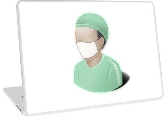 Vinilos para portátiles «Cirujano, matorrales, dr, doctor, medicina ...