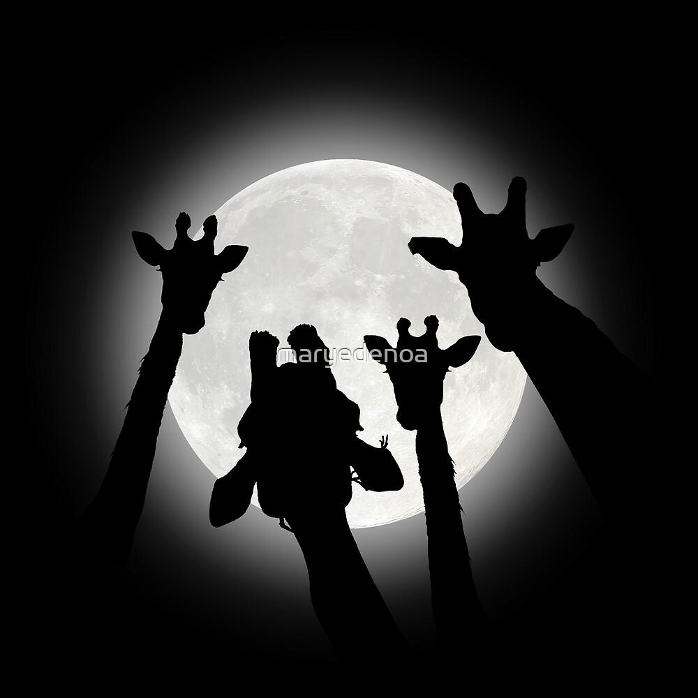 Moonlight Selfie by maryedenoa