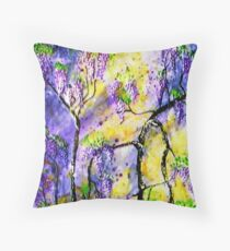 Wisteria 1 Throw Pillow