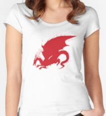 DragonAge_blood Women's Fitted Scoop T-Shirt