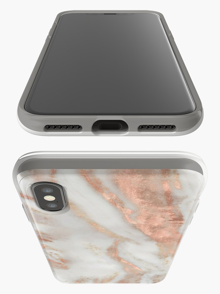Alternate view of Civezza - rose gold marble iPhone Case & Cover