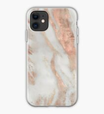 Civezza - rose gold marble iPhone Case