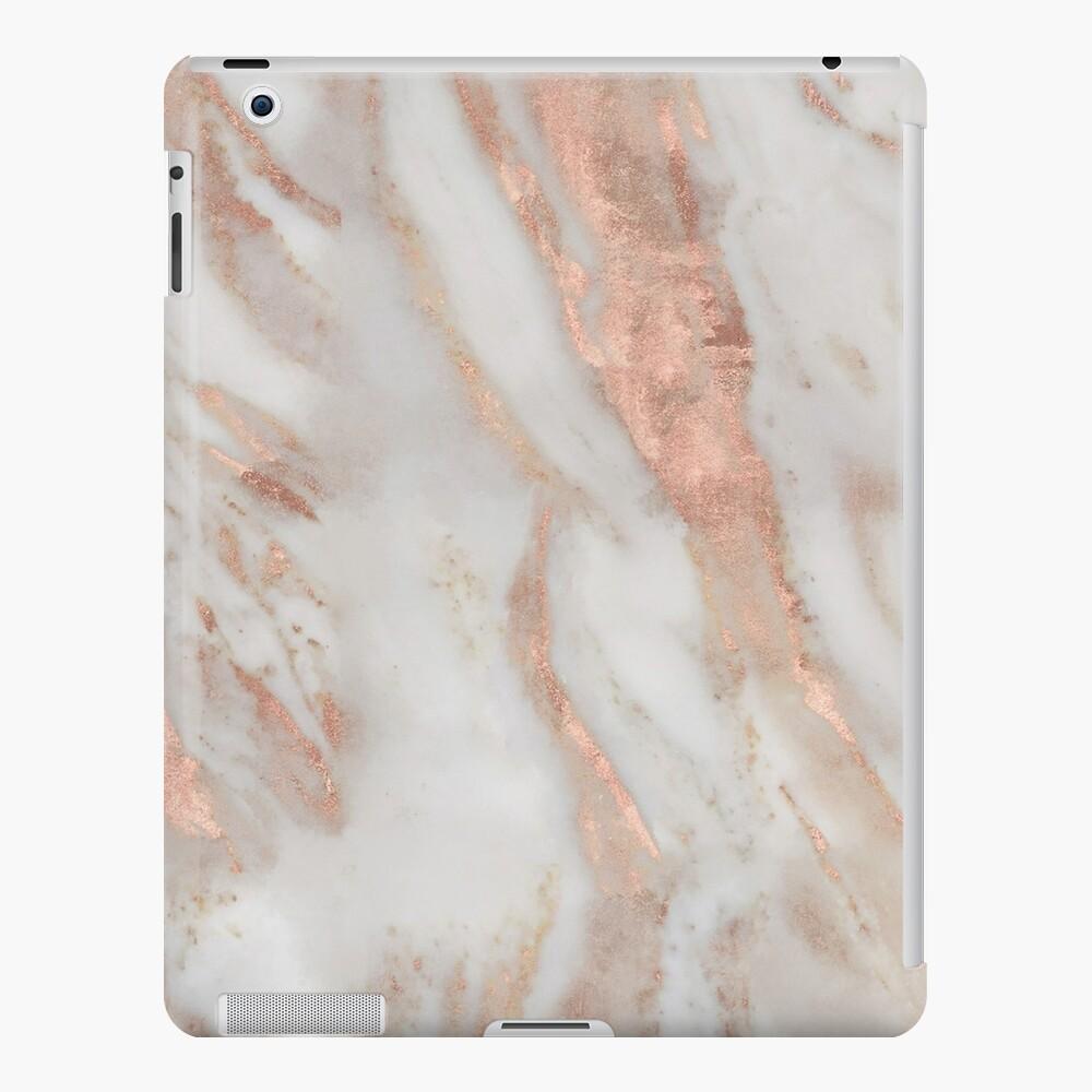 Civezza - rose gold marble iPad Case & Skin