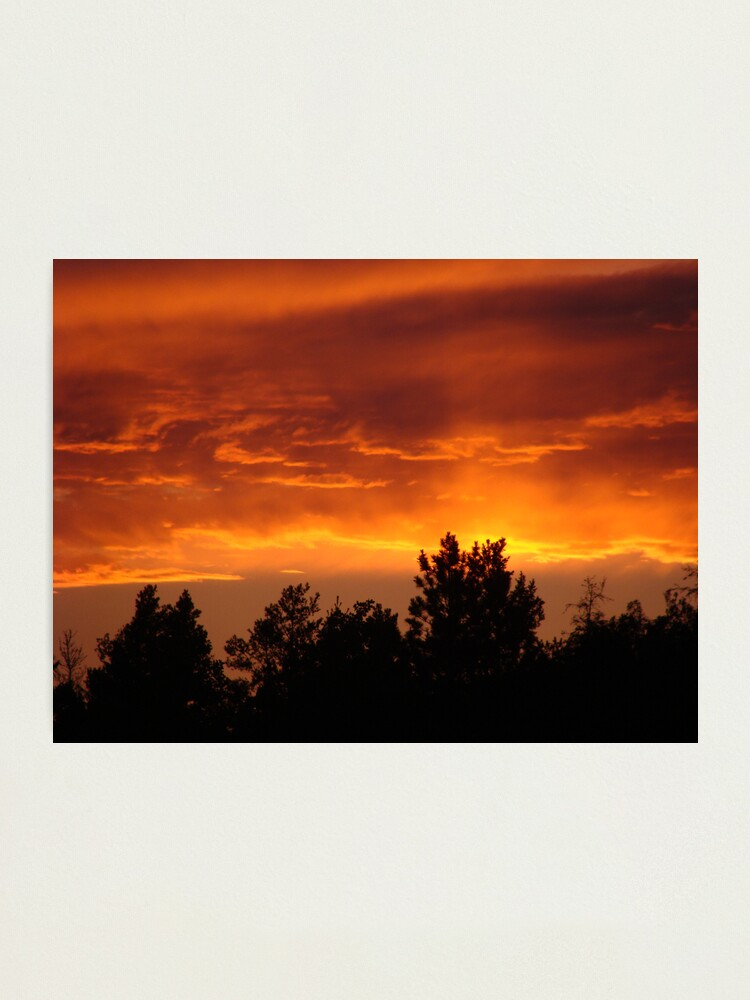 Alternate view of Sky on Fire Photographic Print