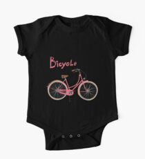 Vintage bicycle One Piece - Short Sleeve
