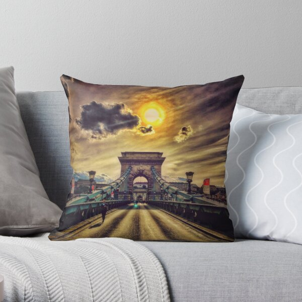 Wake Up Positive Today. Join the Happiness Movement Throw Pillow