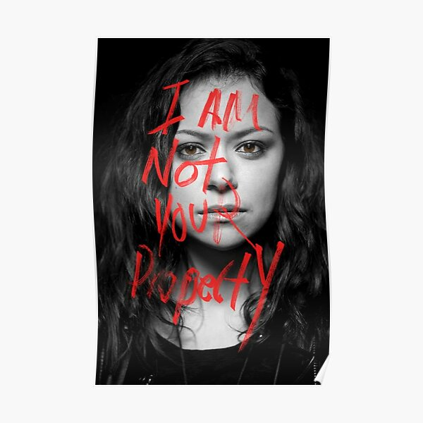 Sarah Manning - Proberty - Orphan Black Poster