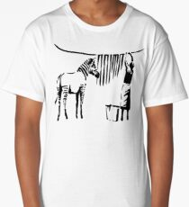 Banksy Zebra Long T-Shirt