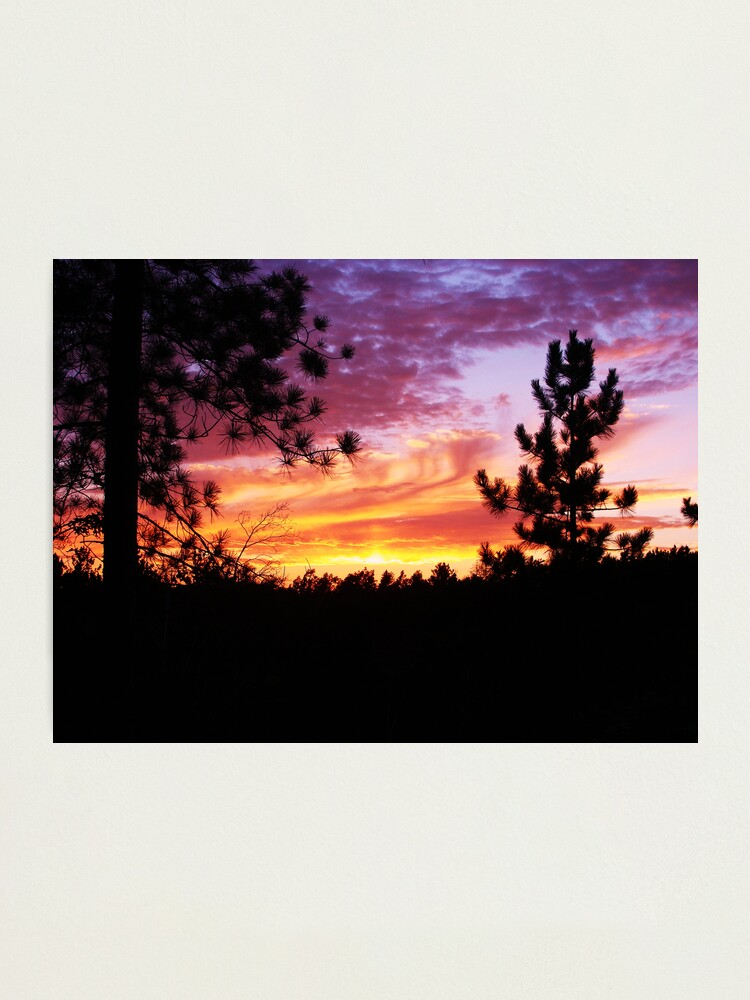 Alternate view of Cotton Candy Sky Photographic Print