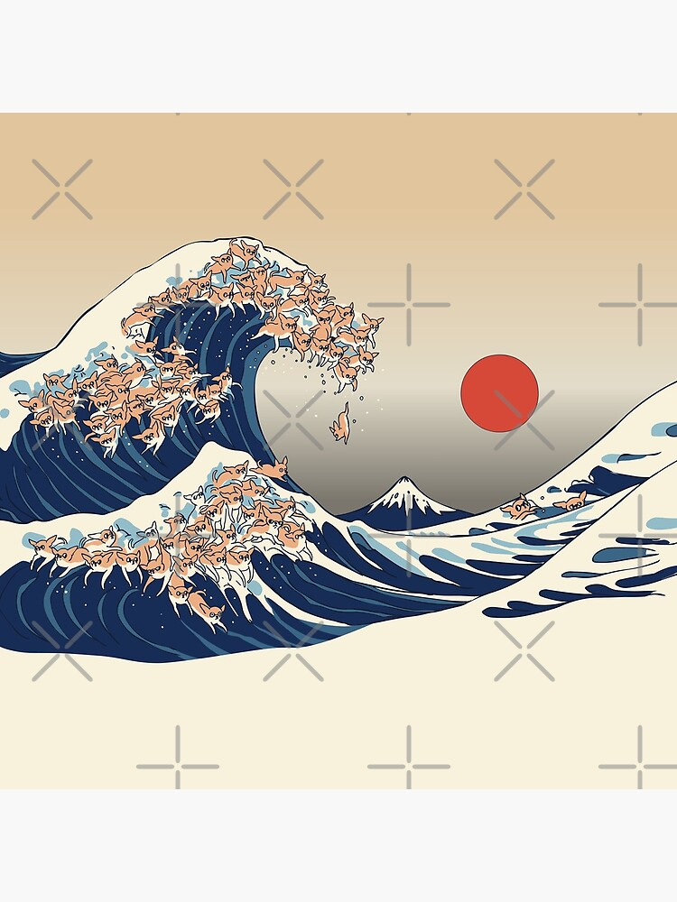 The Great Wave of Chihuahua by Huebucket