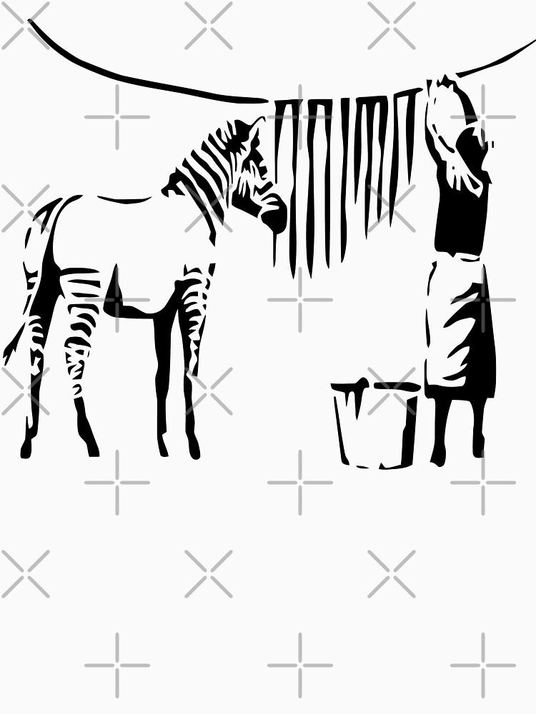 Banksy Zebra by belugastore