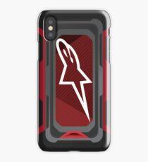 Alpinestars carbon  iPhone Case/Skin