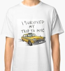 I survived my trip to New York - Tom Holland Classic T-Shirt