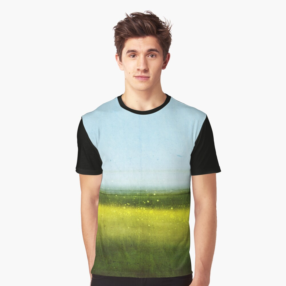 Abstract Landscape No 1: Rapeseed field Graphic T-Shirt