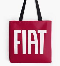 FIAT (white) Tote Bag