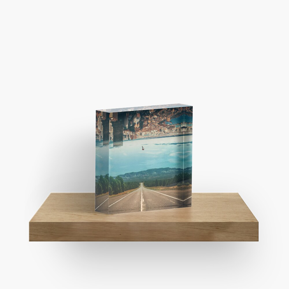 The Dropout Acrylic Block
