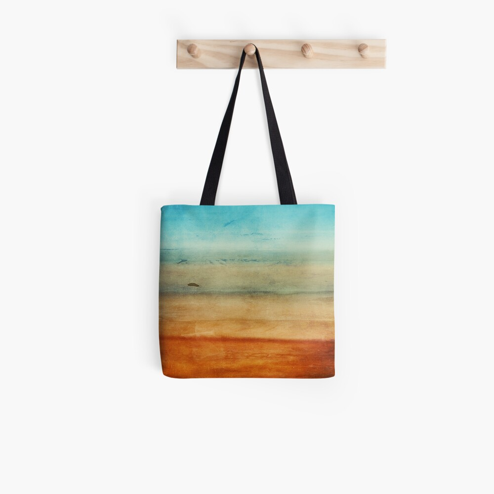Abstract Seascape No 4: sandy beach Tote Bag