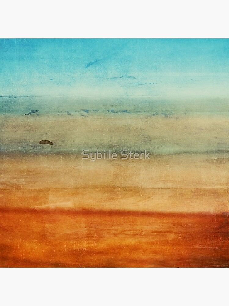 Abstract Seascape No 4: sandy beach by MagpieMagic