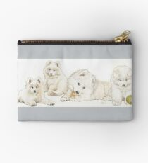 Samoyed Puppies Studio Pouch