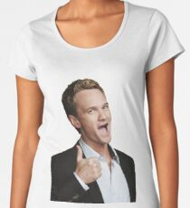 HIMYM Barney Stinson Thumbs Up Women's Premium T-Shirt