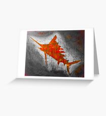 Salty Sailfish  Greeting Card