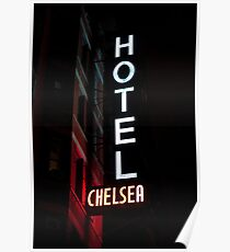 CHELSEA HOTEL - ROCK N' ROLL MONUMENT Poster