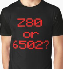 Z80 or 6502? Graphic T-Shirt
