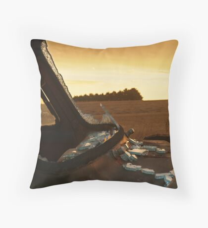 Shattered,Geelong District Throw Pillow
