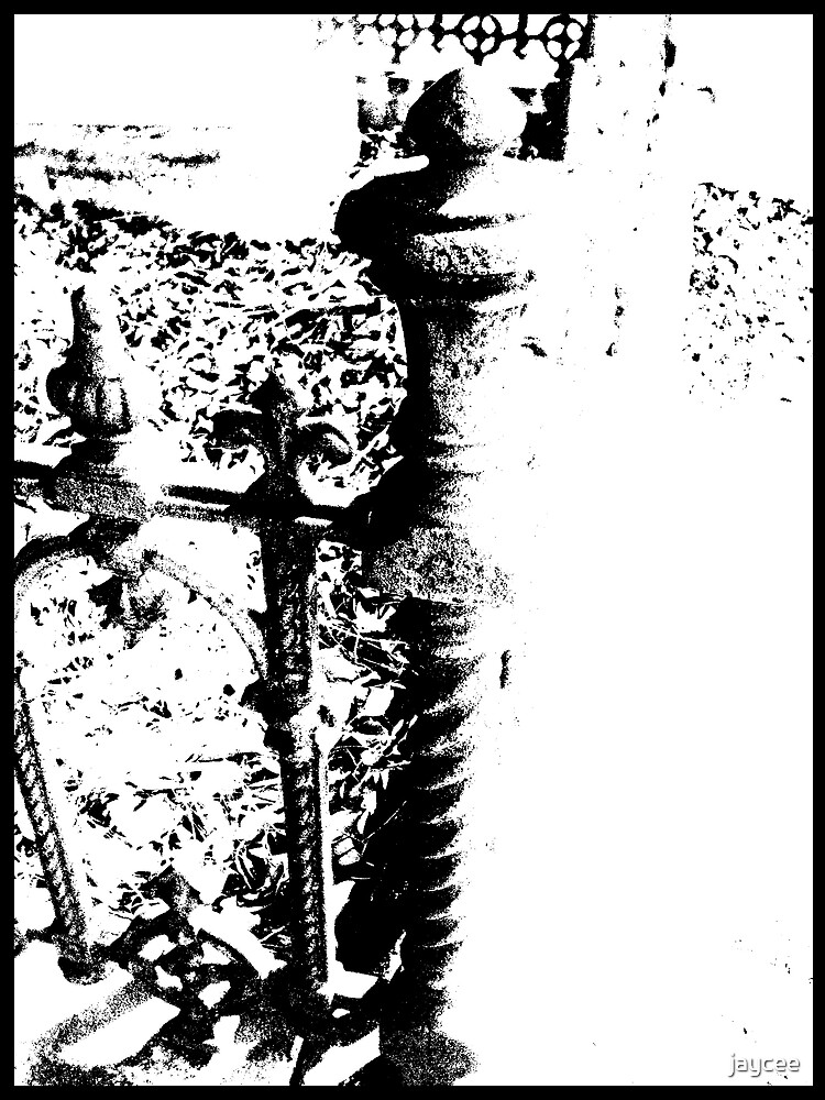 Cemetary (Black/white) by jaycee