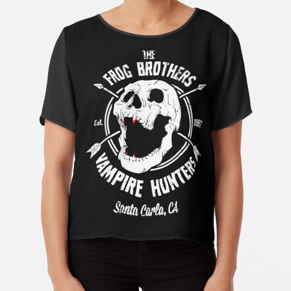The Lost Boys - The Frog Brothers Chiffon Top