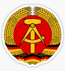 East Germany DDR Sticker