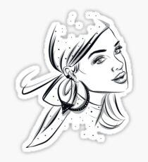 Fashion Girl Sticker