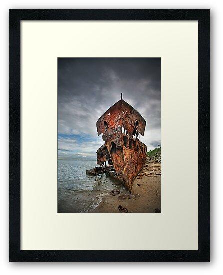 Ghost Ship by Annette Blattman
