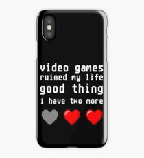 Video Games iPhone Case