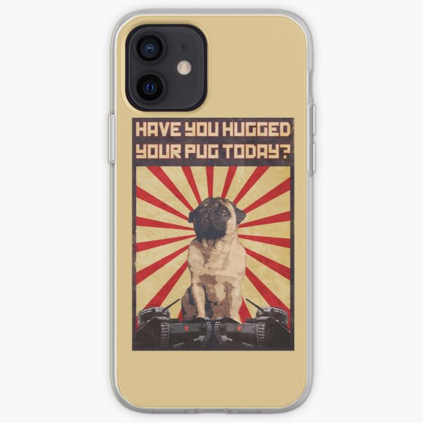 Propaganda Pug iPhone Soft Case