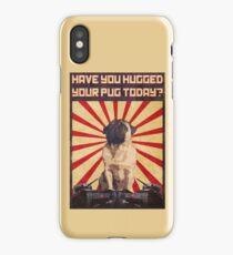 Propaganda Pug iPhone Case