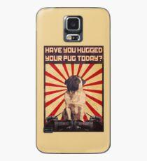 Propaganda Pug Case/Skin for Samsung Galaxy