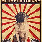 Propaganda Pug by IAmPaul
