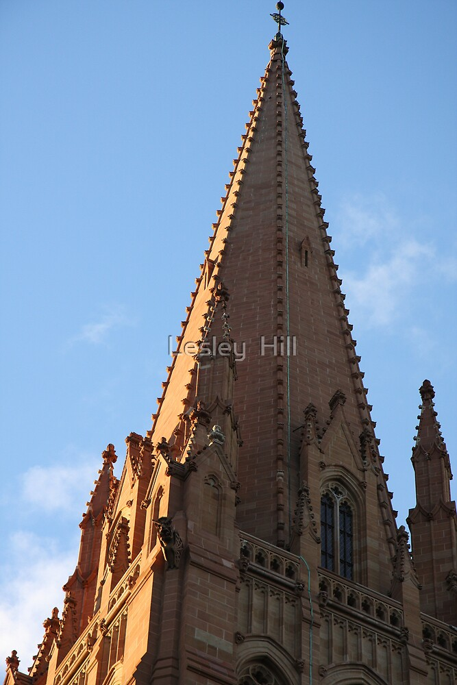 Spire! by Lesley  Hill